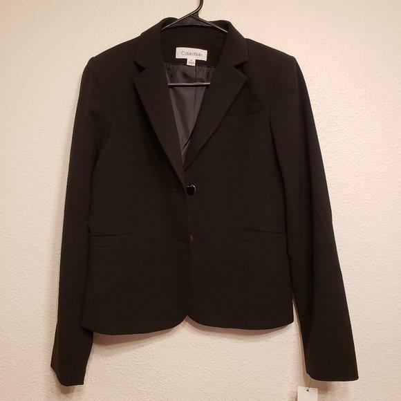 Calvin Klein Jackets & Blazers - Calvin Klein black formal Blazer size 4